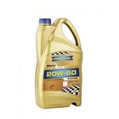 Моторное масло RAVENOL  RHV Racing High Viscosity SAE 20W-60 (4л)