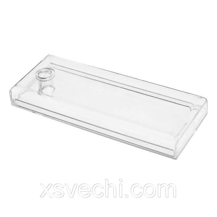 Ёмкость для хранения мелочей 11.5*4.5, оргстекло, цвет прозрачный