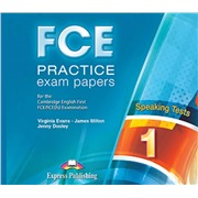 fce practice exam papersspeaking class cd - диски для занятий в классе(set 2)