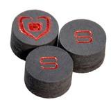 """Наклейка для кия """"Black Heart""""  ORIGINALS  (S) 14 мм, интернет-магазин товаров для бильярда Play-billiard.ru"""