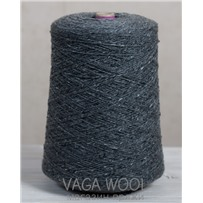Пряжа Твид-мохер Серая ольха 2605, 110м/50гр. Knoll Yarns, Mohair Tweed, Grey Alder