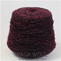 Пряжа Твид Soft Donegal Бордо 5216, 95м в 50 г. Knoll Yarns, Dingle