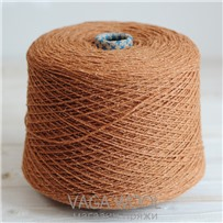 Пряжа City 003 Мармелад 191м/50гр., шерсть ягнёнка, шёлк, Vaga Wool