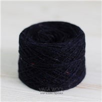 Пряжа Твид Modern, Индиго, 150м/50г, Vaga Wool
