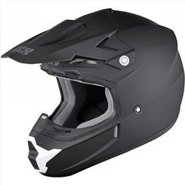 Шлем кроссовый HX 261 THUNDER черный S