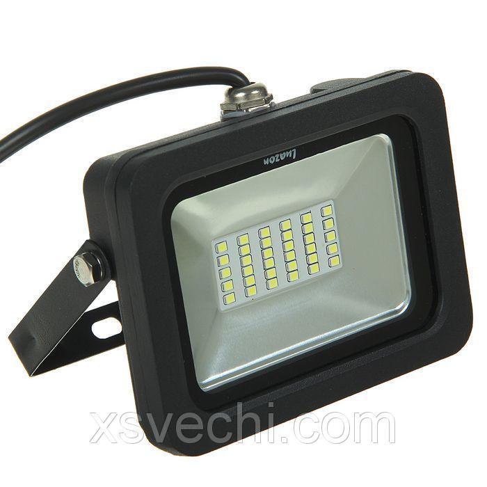 Прожектор светодиодный серия SMD-01, 20W, IP66, 1600Lm, 6500К, 85-220V, БЕЛЫЙ