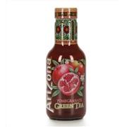 Упаковка холодного чая Arizona Green Tea Pomegranate / Аризона Зеленый Чай Гранат - 6 шт.