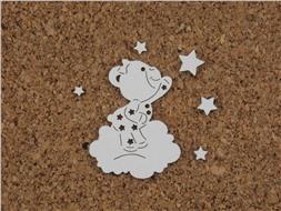 Мишка со звездочками