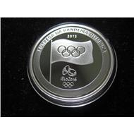 Бразилия - 5 реалов 2012 - Олимпиада Рио 2016