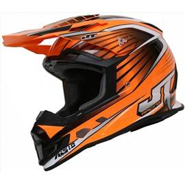 Шлем кроссовый ALS1.0 оранжевый XL