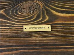 Шильдик пластиковый Autodocuments 1