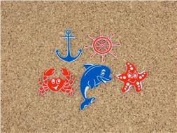 Набор пластиковых фигурок Морской
