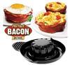 Съедобные тарелки из бекона или хлеба Perfect Bacon Bowl 2шт.