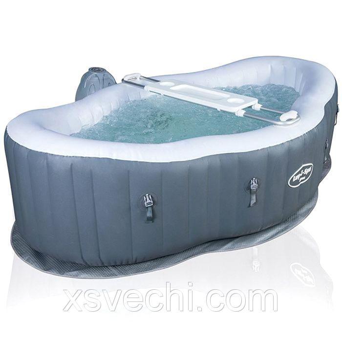 SPA бассейн Siena, 196 х 66 см, столик, тент, фильтр-насос-нагреватель, манометр, плавающий дозатор Bestway