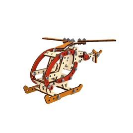 M-WOOD Конструктор 3D деревянный винтовой M-WOOD Вертолет