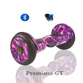 Гироскутер Smart Balance GT Exclusive-Галактика фиолетовая