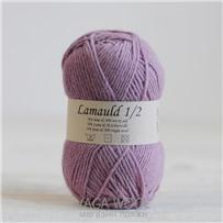 Пряжа Lamauld Светлый лиловый 6600, 100м/50г, CaMaRose, Lyslilla-2
