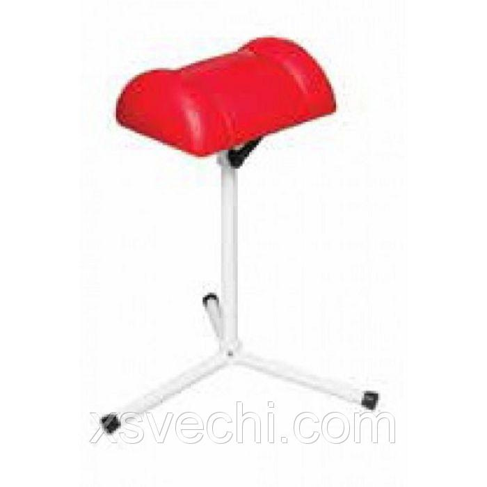 Подставка 3-х лучевая для ног, цвет красный