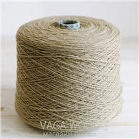 Пряжа City, 007 Беж, 144м/50г, шерсть ягнёнка, шёлк, Vaga Wool
