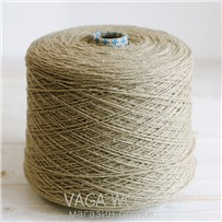 Пряжа City, 007 Бежевый, 191м/50г, шерсть ягнёнка, шёлк, Vaga Wool