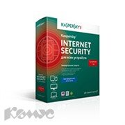 Программное обеспечение Kaspersky Internet Security 3ПК-1г/KL1941RBCFS/Box