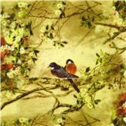Ткань BIRDS 02