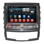 Штатное головное устройство Redpower 18159 HD GPS+Глонасс для Ssang Yong Actyon