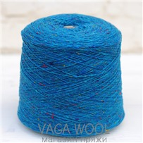 Пряжа Твид Soft Donegal Колибри  5564, 190м в 50 г. Knoll Yarns, Peacock