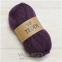 Пряжа Teddi, Фиолетовый 13005, 110м в 50г, альпака, Перу