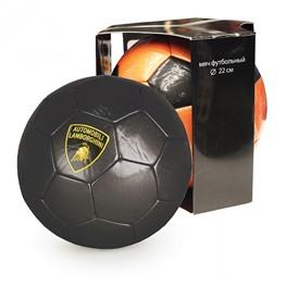 """Мяч футбольный, """"LAMBORGHINI"""" в коробке, черный"""