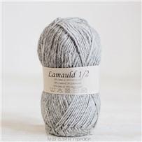Пряжа Lamauld Пепельный 6001, 100м/50г, CaMaRose, Askegra
