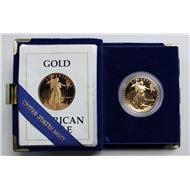 США золото либерти унция 50 долларов 1987 пруф
