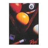 "Постер ""Pool bals and triangle"", интернет-магазин товаров для бильярда Play-billiard.ru"