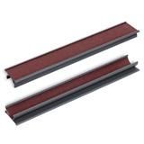 Махровка-триммер для наклейки 2-х сторонняя, пластик (черная), интернет-магазин товаров для бильярда Play-billiard.ru