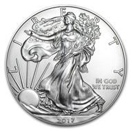 НОВИНКА США 2017 Американский Орёл, серебро, 1 унция.