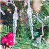 Новогодняя Led гирлянда на елку 3 м 40 ламп большая сосулька