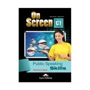 On screen C1 Public speaking skills Teacher's book — публичные выступления, книга для учителя