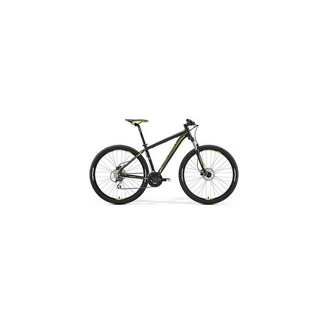Велосипед Merida Big Nine 20D Matt Black/Green (2017), интернет-магазин Sportcoast.ru