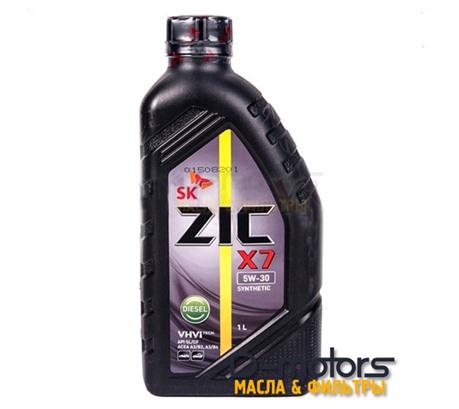 Моторное масло ZIC X7 Diesel 5W-30  (1л.)
