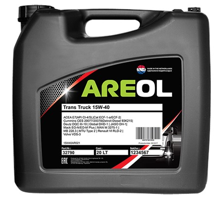 AREOL Trans Truck 15W-40 (20 л.)