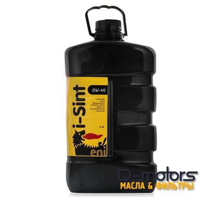 Моторное масло Eni I-Sint 0W-40 (4л.)