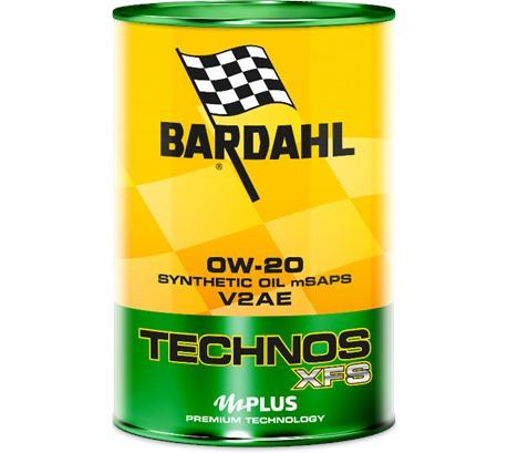 Bardahl C60 TECHNOS XFS V2AE 0W-20 (1 л.)