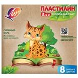 Пластилин классический Луч Zoo 8 цветов 120 г 29С 1720-08