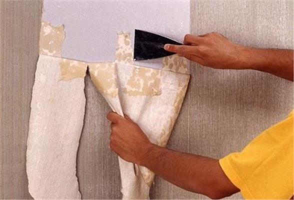 Как убрать обои со стены