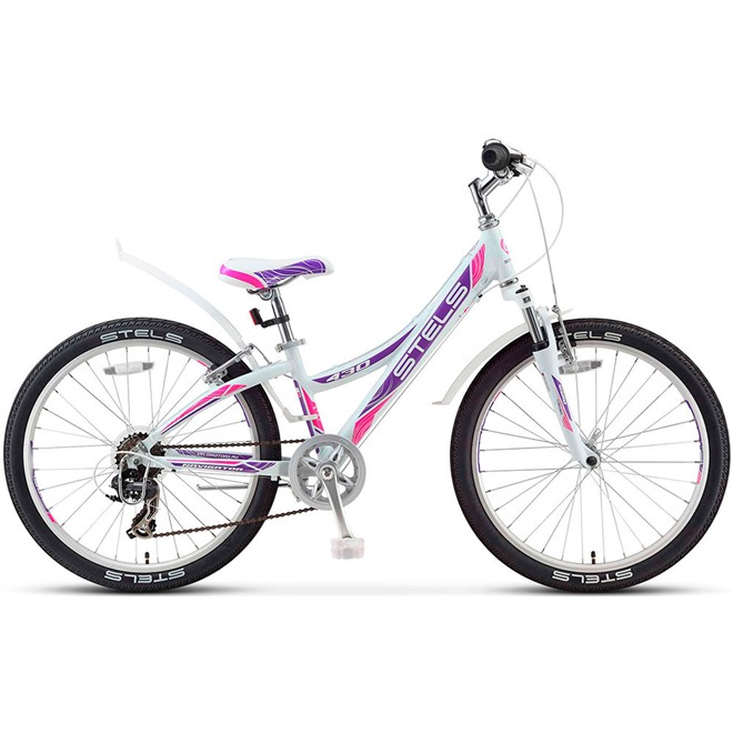 "Велосипед Stels Navigator 24"" 430 V V020 Белый/Пурпурный/Красный , интернет-магазин Sportcoast.ru"