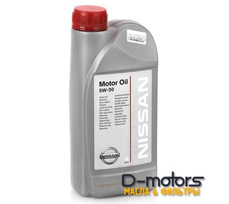 NISSAN MOTOR OIL 5W-30 (1л.)