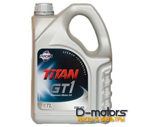 FUCHS TITAN GT1 5W-40 (4л.)