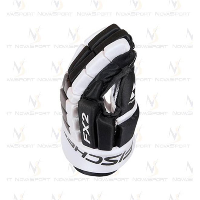 Перчатки игрока Fischer FX2 (черн/бел), интернет-магазин Sportcoast.ru