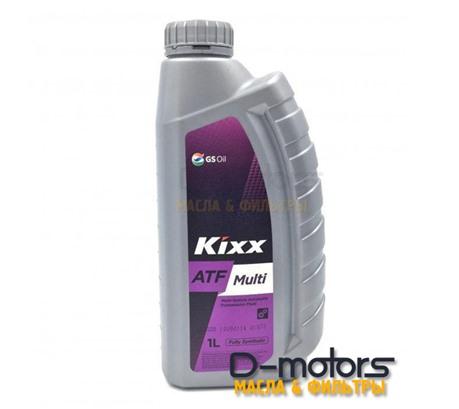 Трансмиссионное масло для АКПП KIXX ATF MULTI (1л.)
