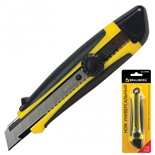 Нож канцелярский 18 мм Brauberg Universal 235402
